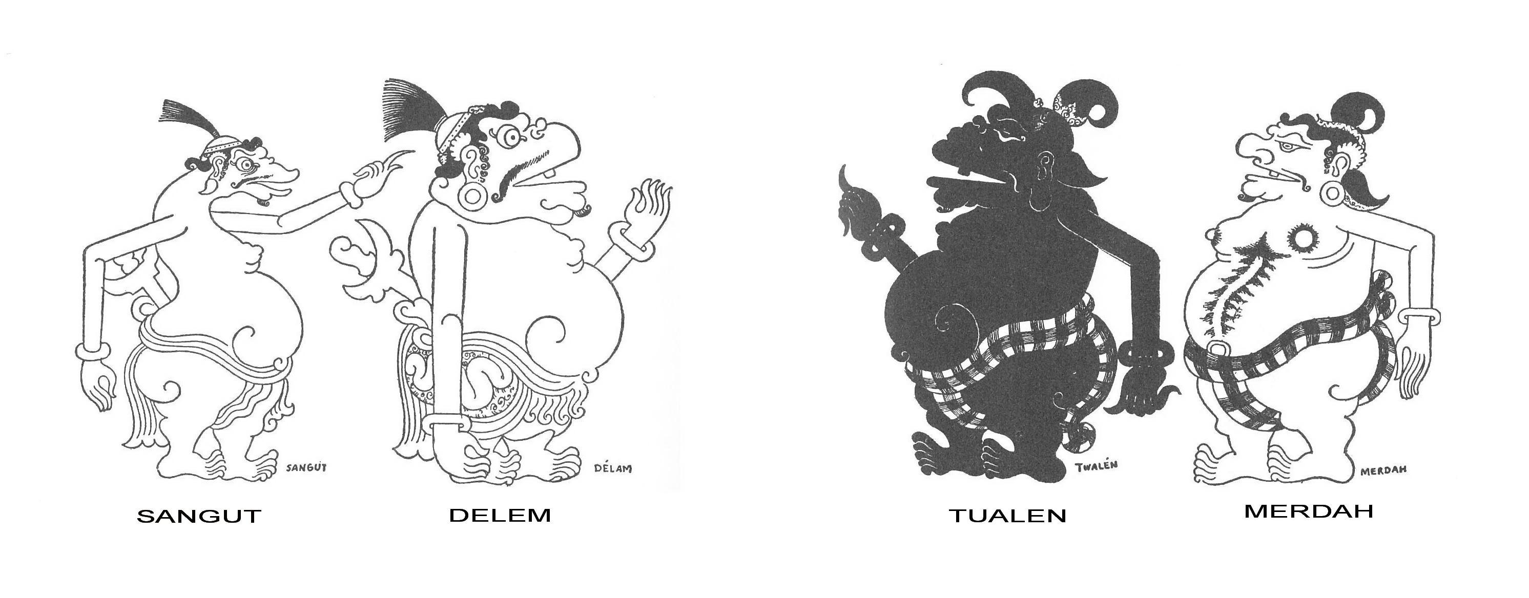 Wayan Bali sketsa Miguel Covarrubias
