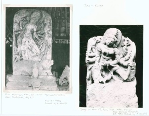 Pura Kedarman, Kutri, Bali. Durga Mahisasuramardini , Pura Puseh, Kutri, Gianjar.