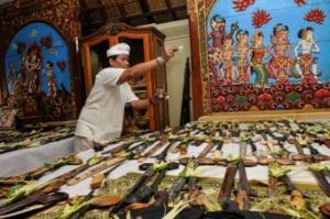 Tumpek Landep—Museum Neka, Ubud Bali—Foto The Jakarta Post